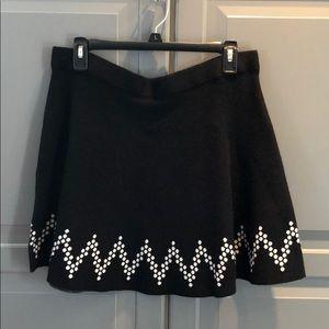 Charcoal Gray Skater Skirt (NWT)
